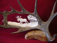 Antler CarvingHorn And Antler Carvings More Like This At FOSTERGINGER @ Pinterest  Lesbianlovers3 ✖️⚫️✖️