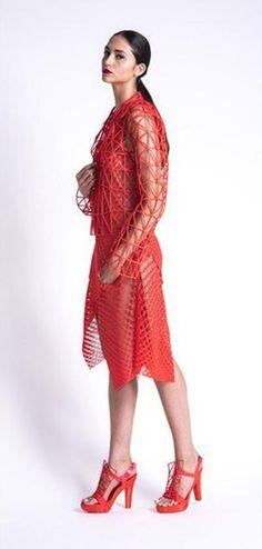 3D printed dress by Danit Peleg