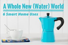 Here are six, smart ways to use (and reuse) water at home.
