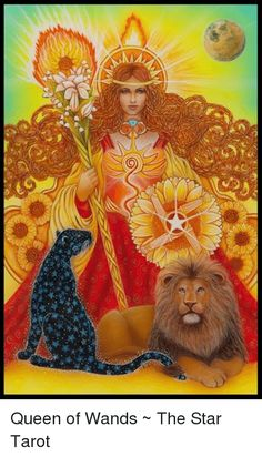 Card of the Day – Queen of Wands – Saturday, September 2018 – Tarot by … – leo constellation tattoo Leo Lion, Tarot By Cecelia, Strength Tarot, Leo Constellation Tattoo, Star Tarot, Tarot Learning, Goddess Art, Oracle Cards, Visionary Art