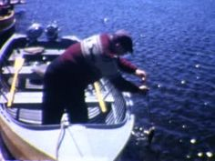 Cass Lake, Minnesota - 1958  - Home Movie Clips