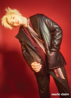 [Picture/Official] BTS Suga #AgustD For Marie Claire Korea September Issue…