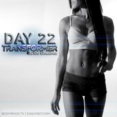 We're hiiting Day 22 with Edith.  This is a crazy CORE circuit. Are you ready?