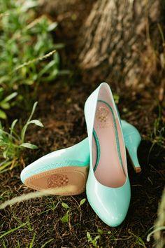 Turquoise Wedding Shoes! #obsessed // image: Jennefer Wilson Photography
