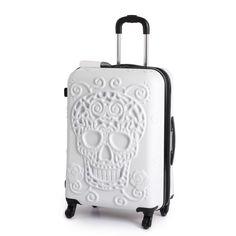 Buy it Luggage Medium Skull Suitcase - Black at Argos.co.uk - Your ...