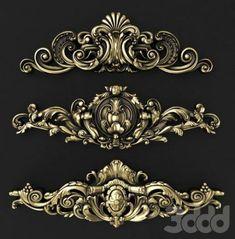 Wood Wall Art, Wall Art Decor, Thermocol Craft, Alas Tattoo, Tea Table Design, Foam Carving, Cnc Cutting Design, Baroque Decor, Baroque Pattern