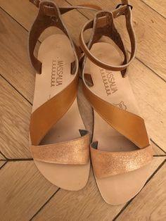 Massalia sandal Madeinfrance modèle Aphrodite