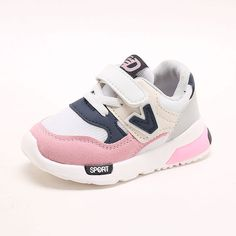 Awesome Kids Shoes for Baby Boys Girls Children's Casual Sneakers Air Mesh Breathable Soft Running Sports Shoes Pink Gray - $ - Buy it Now!
