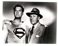 George Reeves  Robert Shayne as Superman and Inspector Henderson