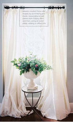Ruffled Drapes
