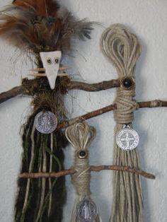 New Orleans Voodoo Rope Dolls