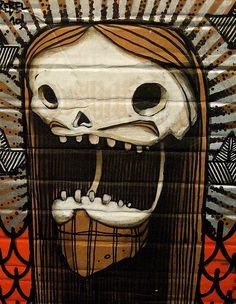 Graffiti art by Cusco Rebel