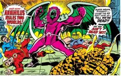 "Fantastic Four # 140 ""Annihilus Revealed"""