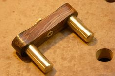Board center gauge - brass version blog - by mafe @ LumberJocks.com ~ woodworking community