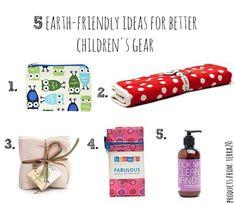 5 best earth-friendly children's gear via @exploreterra20 #Cleanstart program for parents with kids 0-5