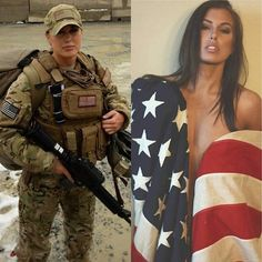 Who could imagine this sexy hot babe this is woman warrior! Inspired and admirer
