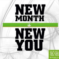 If you want new things happen in your life, you need make some new change #herbalife #newlife #changeyourlife
