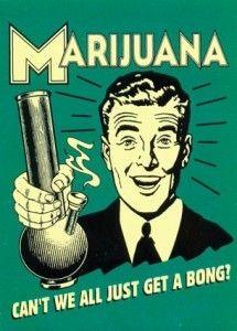Marihuana, cartel clásico   Dupetit's 'Cannabis EdT'