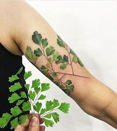 By @rit.kit.tattoo @thefadmia -- I want to figure out what my nana's favorite plant is to get something similar.