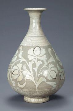 Korean Buncheong vase. China : More At FOSTERGINGER @ Pinterest