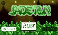 Jade Run title screen by @uncledev #gamedev #indiedev #animation http://uncledev.itch.io/jade-run