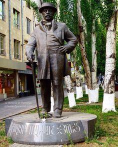 Aleksander Mantashyants (1842-1911),famous Armenian benefactor. Yerevan, Abovyan Str.
