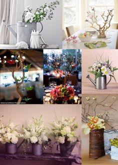DIY wedding center pieces