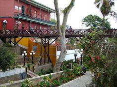 Barranco—for reasons unknown to me—is the Bridge of Sighs (Puente de los Suspiros)