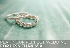 Plan my wedding for less than $5k.... this is totally going to happen!!! Just watch!