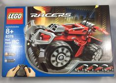LEGO RC Racers Red Beast 8378 New Sealed Box Remote Control Vintage Rare 2004 #LEGO
