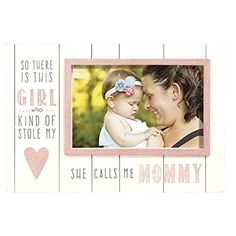 """Grassland Roads """"She Calls Me Mommy"""" Photo Frame (4"""" x 6"""") ** Continue to the product at the image link. (This is an affiliate link) #PictureFrames"""