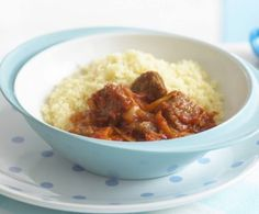 An aromatic & fruity Moroccan dish that tastes divine when mixed with fluffy couscous. Batch Cooking, Easy Cooking, Cooking Recipes, Healthy Meals For Kids, Kids Meals, Healthy Recipes, Healthy Food, Lamb Recipes, Baby Food Recipes