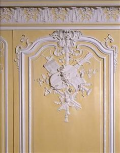Boiseries❤•♥.•:*´¨`*:•♥•❤du salon jaune Louis XV.