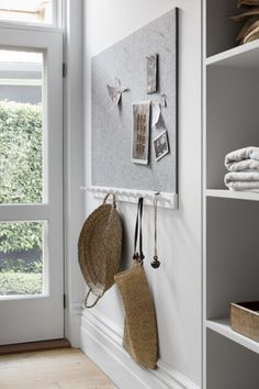 Ali Ross Design » » Armadale Home Drop Zone, Laundry Closet, Mudroom, Old And New, Bathroom Hooks, Interior Styling, Furniture Decor, Kids Bedroom, Ali