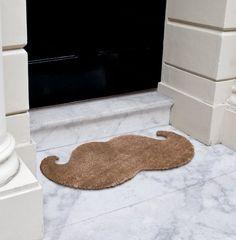 Mustache Door Mat  I NEED IT!!!!!!!!!!!!!!!!!