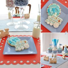 Train Themed Birthday by Prop Shop Boutique