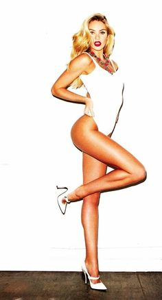 Candice Swanepoel Would love this pose as my pin up girl side tattoo!