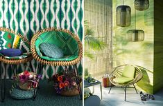 #greenery #green #house #lifestyle #home #desigh #interior #homedesign #homeinterior #decoration Pantone Color, Hanging Chair, Greenery, Sweet Home, House Design, Inspirational, Colour, Trends, Lifestyle