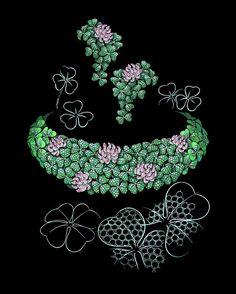 『珠宝』Chopard 推出 2020 Red Carpet 高级珠宝系列:自然主题回归 | iDaily Jewelry · 每日珠宝杂志 High Jewelry, Jewelry Art, Antique Jewelry, Vintage Jewellery, Latest Jewellery Trends, Jewelry Trends, Pandora Leather Bracelet, Pandora Bracelets, Jewellery Sketches