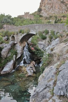 bridge near the old town Bar (Montenegro)
