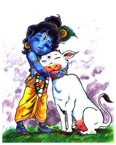 Little Krishna Lovelifnsoul💋 Baby Krishna, Little Krishna, Krishna Leela, Krishna Statue, Cute Krishna, Radha Krishna Love, Shree Krishna, Radhe Krishna, Krishna Drawing