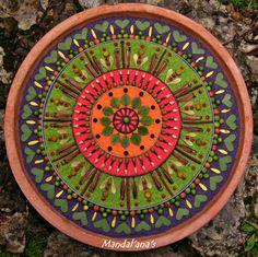 Vibrant earth plate
