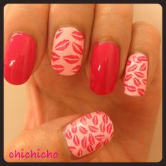 Kiss Me! Image Plate QA28! | chichicho~ nail art addicts