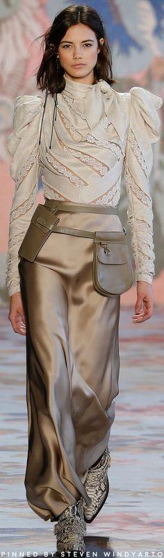 Zimmermann Fall Winter 2018 Fashion Show #fall2018 #fw18 #womenswear