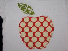apple of my eye baby shirt