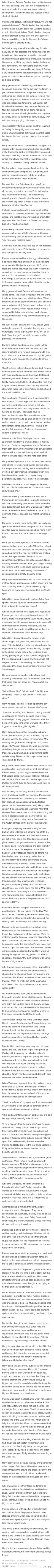 What if Petunia Dursley took Harry in and treated him as one of her own? imagined by | Hark, the empty highways calling | on tumblr, pinned by | Caroline Wong |