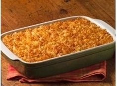 Gluten Free Recipe - Cheesy Potato Casserole