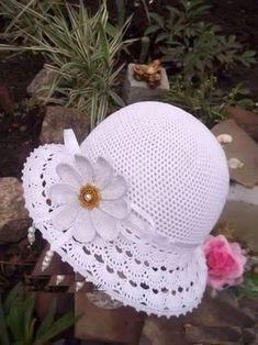 Modelos de chapéus em crochê para você se inspirar e fazer logo o seu!