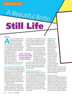 Britto Still Life