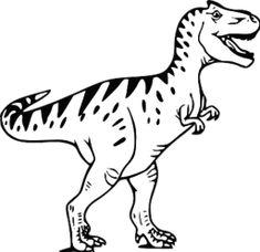 Dinosaur footprints silhouette clip art. Download free